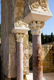 Cordoba - Medina Azahara, house of YaFar.  Mudejar architecture detail Stock Photography
