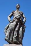 Cordoba - The memorial to Manolete on Plaza del Conde de Priego square by sculptors Luis Moya and Manuel Alvarez Laviada Royalty Free Stock Photos