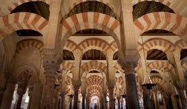 cordoba mezquita Royaltyfri Bild