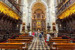 Cordoba Mezquita Mosque Cathedral Stock Photography