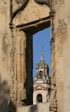 Cordoba, the mezquita tower, Spain Stock Images