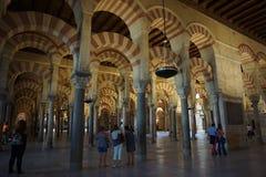 Cordoba-Moschee Stockfotos
