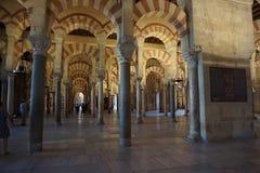 Cordoba-Moschee Stockbilder
