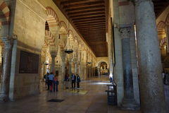 Cordoba Mosque. In Andalusia from Spain Royalty Free Stock Photography