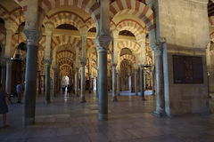 Cordoba Mosque. In Andalusia from Spain Stock Images