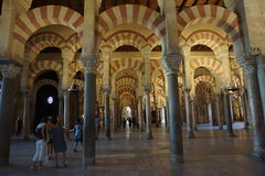 Cordoba Mosque. In Andalusia from Spain Royalty Free Stock Images