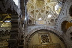 Cordoba Mosque. In Andalusia from Spain Royalty Free Stock Photo