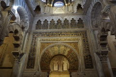 Cordoba Mosque. In Andalusia from Spain Royalty Free Stock Photos