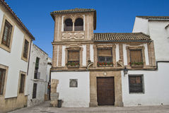 Cordoba Palace. A mansion on the streets of Córdoba Royalty Free Stock Photo