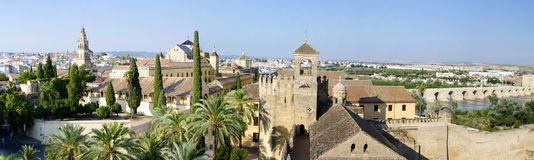 Cordoba Panorama Royalty Free Stock Photo
