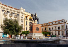Cordoba. Plaza Tendilas. Stock Photos