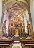 Cordoba - plebania kościół monaster Convento Santa Marta Andres Ocampo Baltasar Del Aguila od 16 i malarz cent Obraz Stock
