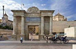 Cordoba Puerta del Puente Arkivbilder