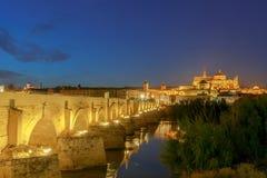 Cordoba Römische Brücke stockfotos