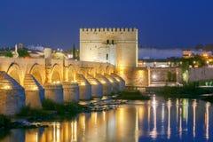Cordoba Römische Brücke lizenzfreie stockfotografie