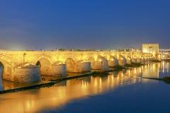 Cordoba Römische Brücke stockfotografie