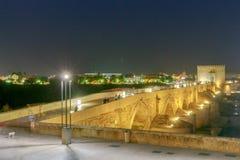 Cordoba Römische Brücke stockbild