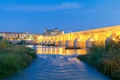 Cordoba Römische Brücke stockbilder