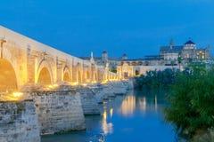 Cordoba Römische Brücke lizenzfreies stockfoto