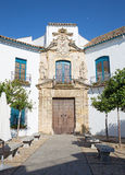 Cordoba - Renaissance portal of Palacio de Viana. Royalty Free Stock Photo