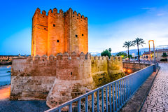 Cordoba - Roman Bridge, Andalusia, Spain Stock Image