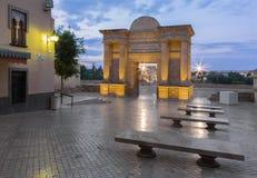 Cordoba - The Roman bridge and gate Royalty Free Stock Images