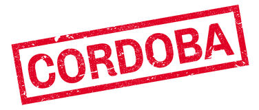 Cordoba rubber stamp Royalty Free Stock Image