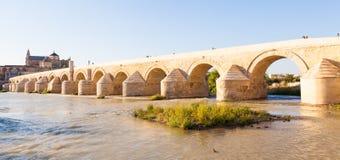 Cordoba rzymianina most Zdjęcie Royalty Free