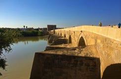 Cordoba rzymianina most, Hiszpania fotografia stock