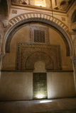 Cordoba's mosque door Royalty Free Stock Photos