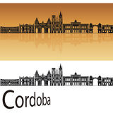 Cordoba skyline Stock Images