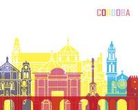 Cordoba skyline pop Stock Images