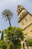 Cordoba Spain. Alminar tower of La Mezquita The Great Mosque Stock Photography