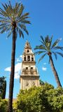 Cordoba Spain. Clock Tower from Cordoba Spain architecture Royalty Free Stock Image