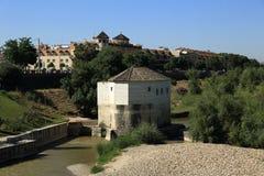 cordoba spain Den stora moskén (aktuellt katolsk domkyrka) Lokal för Unesco-världsarv arkivbilder