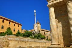 cordoba spain Den stora moskén (aktuellt katolsk domkyrka) Lokal för Unesco-världsarv arkivfoton