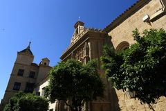 Cordoba, Spain. The Great Mosque (currently Catholic cathedral). UNESCO World Heritage Site. Royalty Free Stock Photo