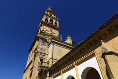 Cordoba, Spain. The Great Mosque (currently Catholic cathedral). UNESCO World Heritage Site. Royalty Free Stock Images