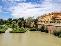 Cordoba, Spain. Guadalquivir river in Cordoba, Spain stock photography