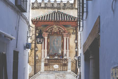 CORDOBA - SPAIN - JUNE 10, 2016 :Traditional architetcture in Co royalty free stock photography