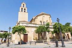 CORDOBA, SPAIN - MAY 27, 2015: The baroque facade of monastery Convento de la Merced 1716 - 1745 Royalty Free Stock Images
