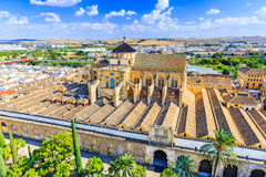 Cordoba, Spain. The Mezquita Mosque-Cathedral royalty free stock photo