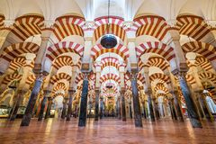 Cordoba, Spain Mosque-Cathedral Royalty Free Stock Images