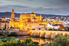 Cordoba, Spain Mosque - Cathedral Skyline Stock Photo