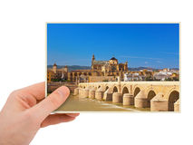 Cordoba Spain photography in hand Stock Photography