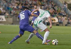 CORDOBA, SPAIN - SEPTEMBER 28: Borja García W(18) in action during match league Stock Photo