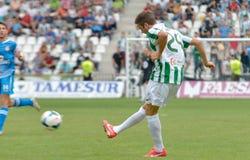 CORDOBA, SPAIN - SEPTEMBER 29:  Pelayo Novo W(24) in action during match league Cordoba (W) vs Girona (B)(2-0) Royalty Free Stock Image