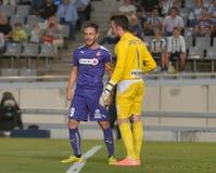 CORDOBA, SPAIN - SEPTEMBER 28: Sergio García P(9) in action during match league Stock Photos
