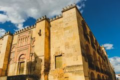 Cordoba, Spain - 5/3/18: View of the Mosque–Cathedral stock photos