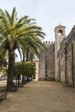 CORDOBA - SPANIEN - 10. JUNI 2016: Ansicht von Alcazar und von Kathedrale M Lizenzfreies Stockfoto